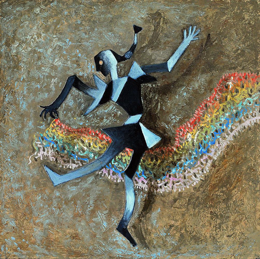 2015---ballando-con-arcobaleno-olio-su-tela-40x40